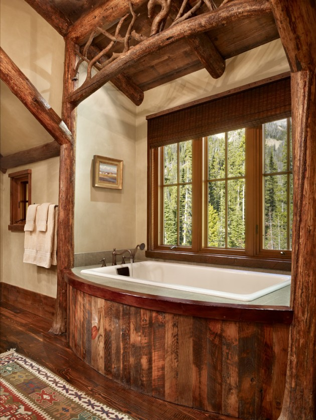 15 Heartwarming Rustic Bathroom Designs Perfect For The Winter