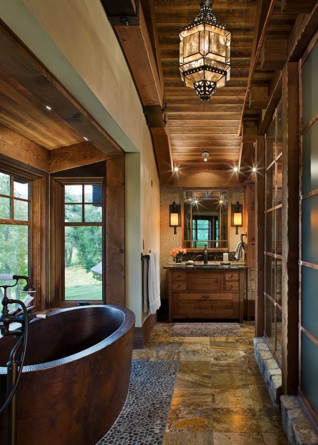 Outdoor Copper Bathtub