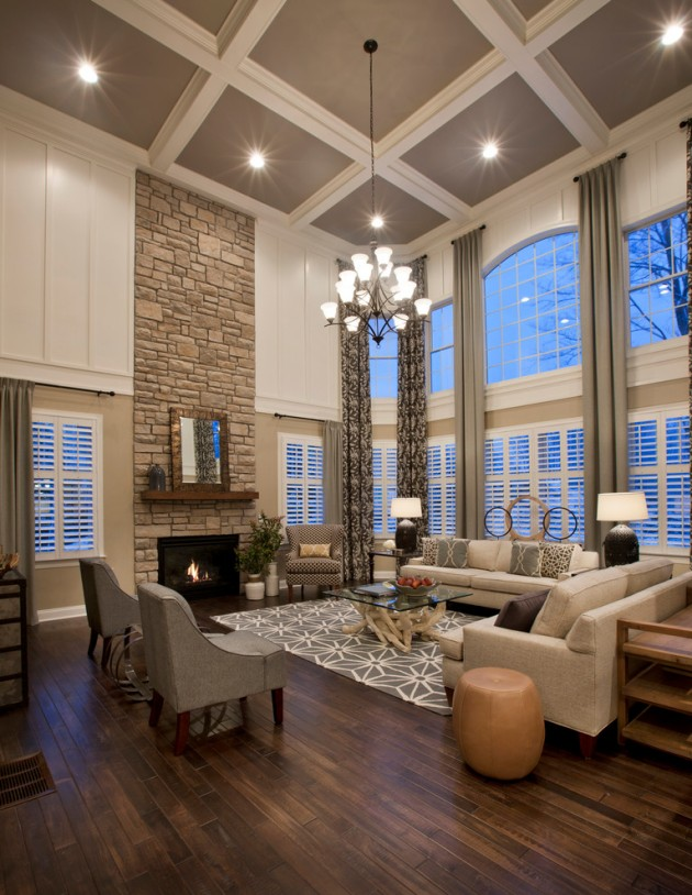 Awesome Homely Traditional Living Room Designs To Help You Arrange Your Own