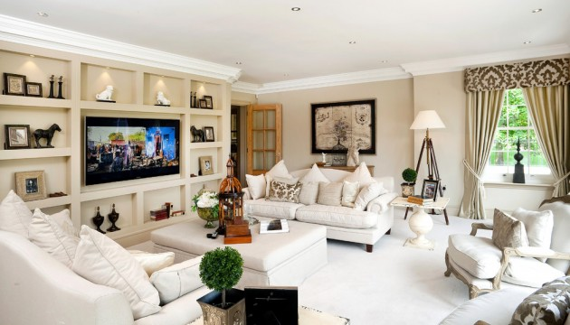 15 homely traditional living room designs to help you Design your own tv room