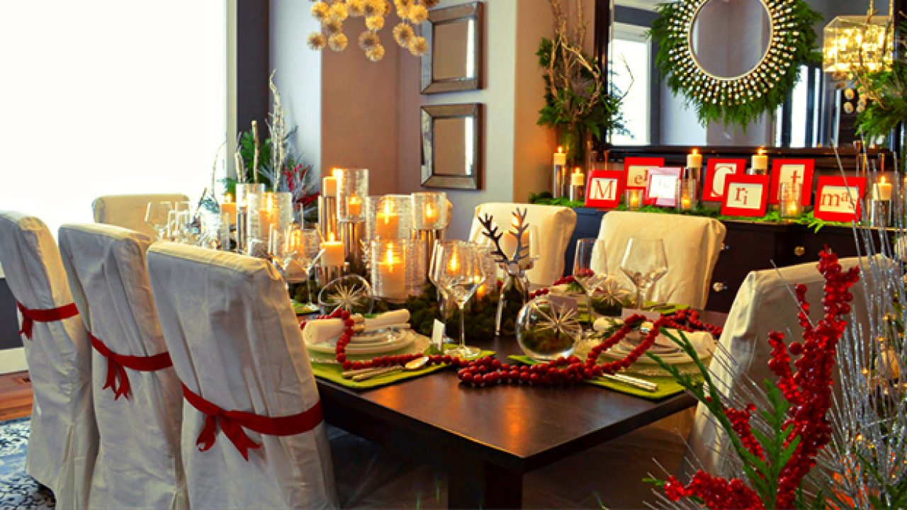 Image of: 15 Magical Christmas Dining Room Decoration Ideas You Can Use