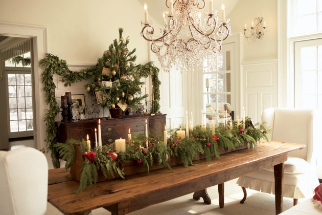 15 Magical Christmas Dining Room Decoration Ideas You Can Use