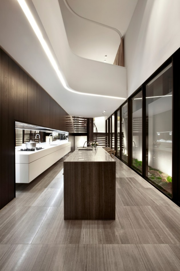15 Mesmerizing Luxury Contemporary Kitchen Designs You