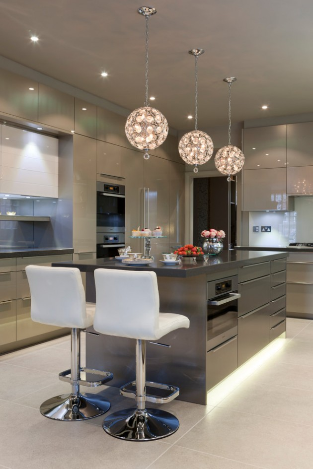 15 Mesmerizing Luxury Contemporary Kitchen Designs You Need To Know Of