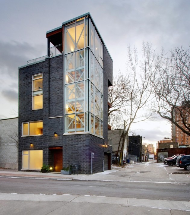 Home Design Ideas Construction: 15 Spectacular Modern Industrial Home Designs That Stand