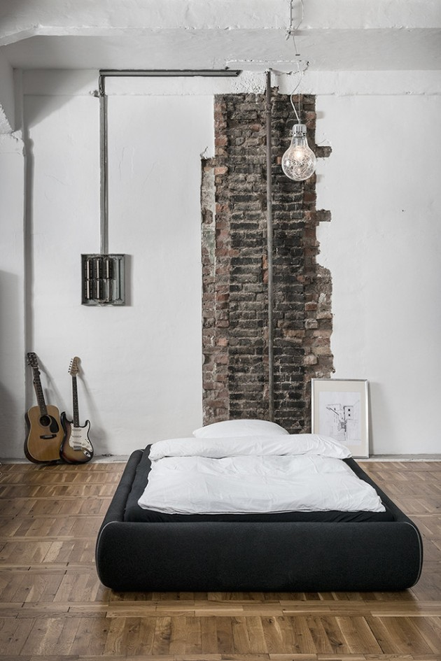 15 Sublime Industrial Bedroom Designs To Get Ideas From