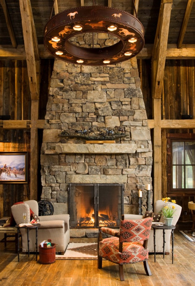 Contemporary Interior Design: 15 Warm & Cozy Rustic Living Room Designs For A Cozy Winter