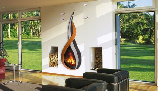 15 exclusively modern fireplace design ideas to keep you warm this winter - Modern Fireplace Design Ideas