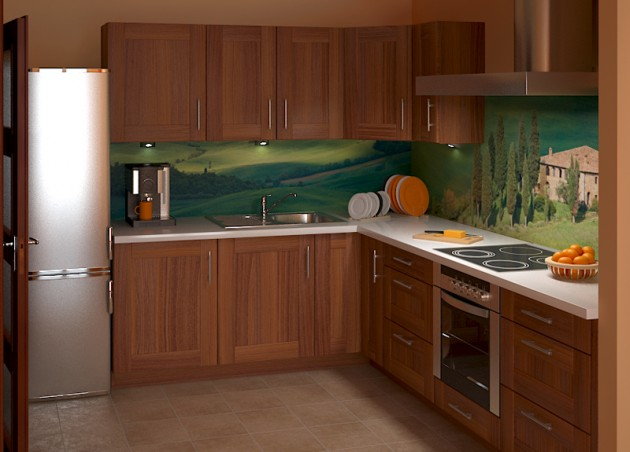 16 Beautiful Wall Murals To Change The Boring Look Of Your Kitchen