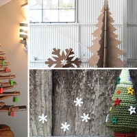 17 Creative Handmade Unusual Christmas Tree Ideas You Can Get Inspiration To DIY