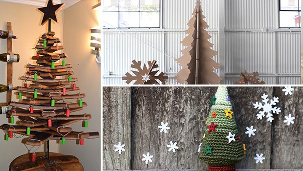 17 Creative Handmade Unusual Christmas Tree Ideas You Can Get Inspiration To DIY