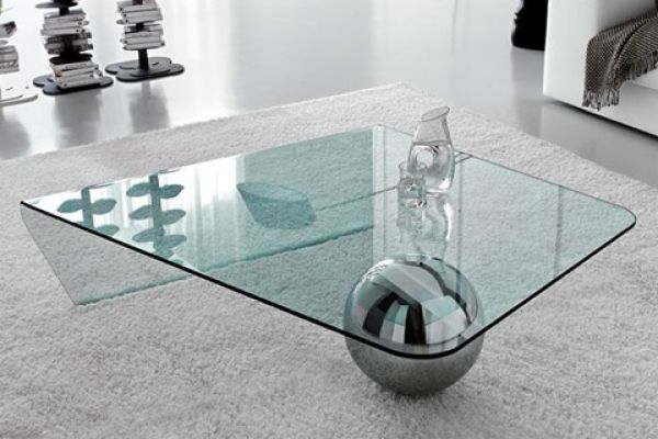 Glass Coffee Table Beautiful Addition to Any Contemporary Home - Glass Coffee Table- Beautiful Addition To Any Contemporary Home