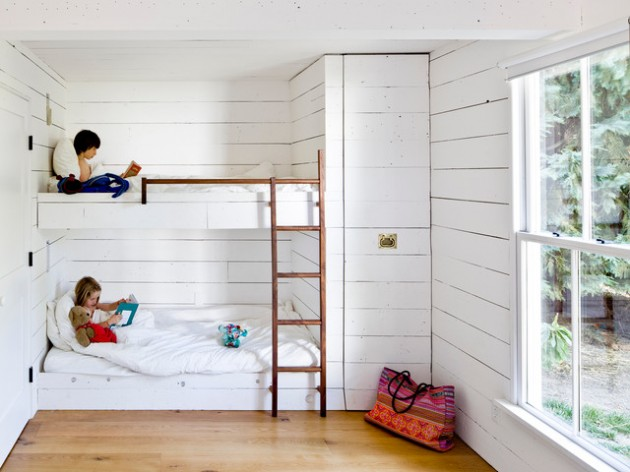 20 Lovely Bunk Bed Design Ideas for Great Comfort and Pleasure of Your Kids