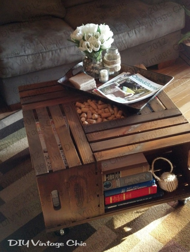 28 Absolutely Genius Ideas To Repurpose Wooden Crates To Add A Vintage Touch