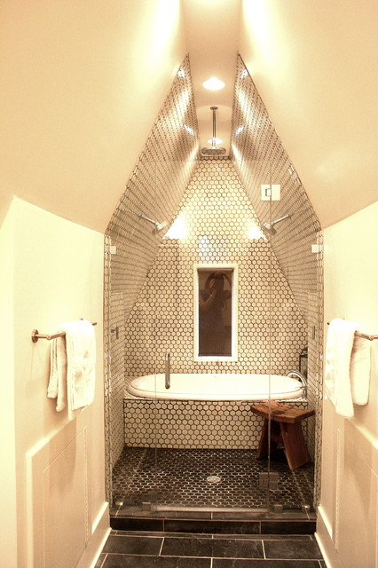 17 Magnificent Attic Bathroom Design Ideas For Your Private Haven