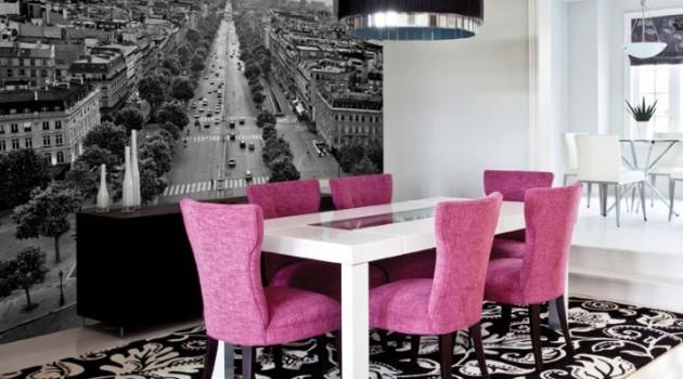 18 Classy Feminine Dining Room Design Ideas