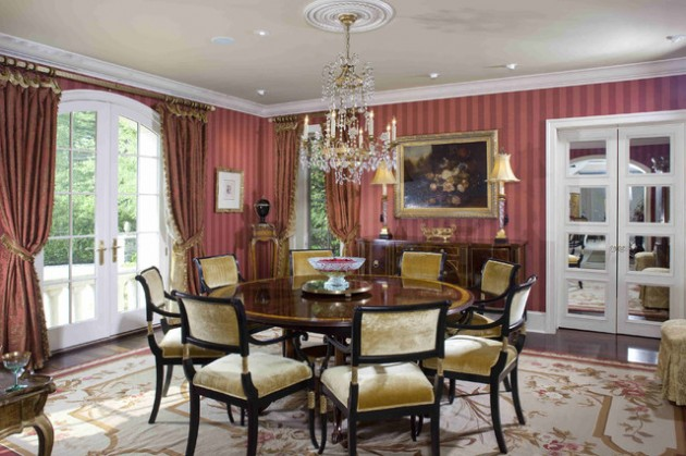 14 Captivating Designs of Victorian Dining Rooms