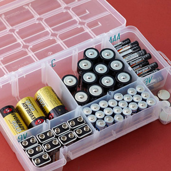 Totally ingenious organization hacks that surely will amaze you tackle box battery organizer solutioingenieria Images
