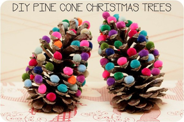 18 the most cheapest astonishing diy pine cones for Pine cone christmas tree craft