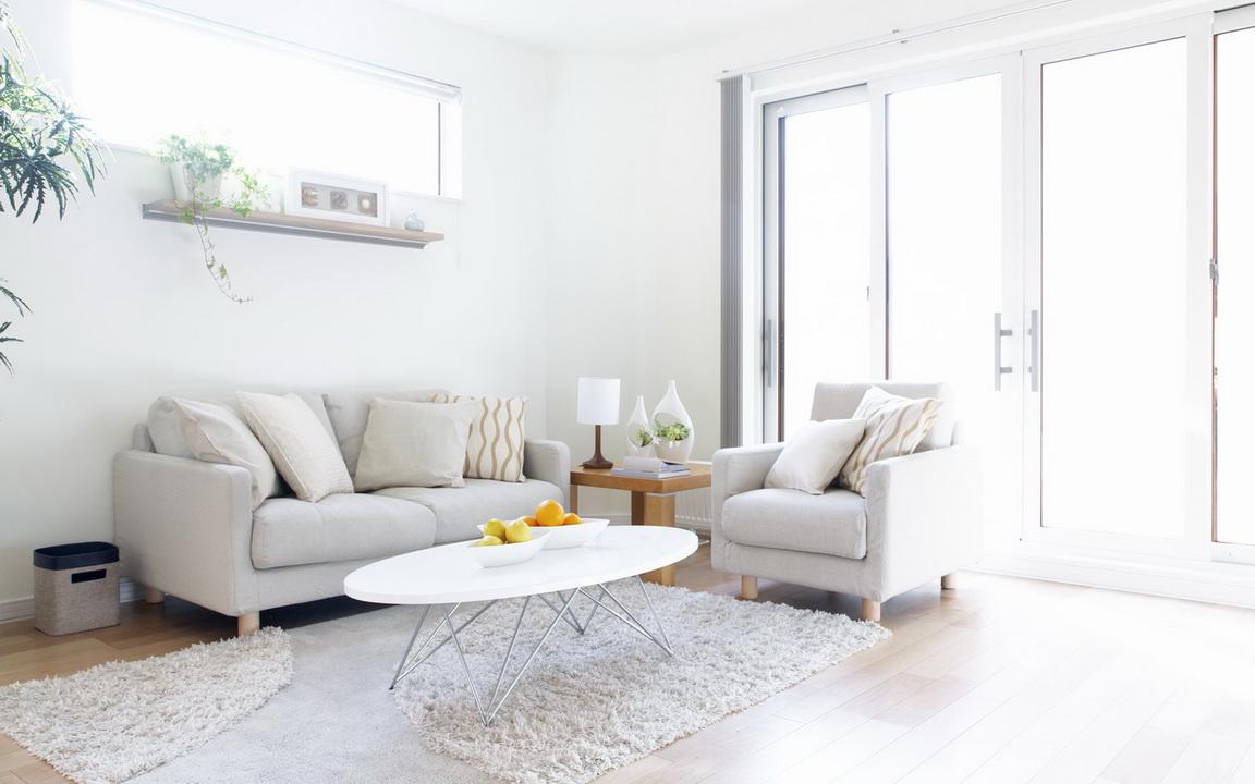 Фото интерьер гостиной с белой мебелью фото