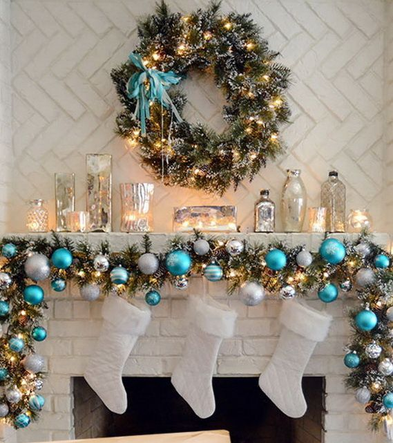 decorate your mantel - Decorating Your Mantel For Christmas