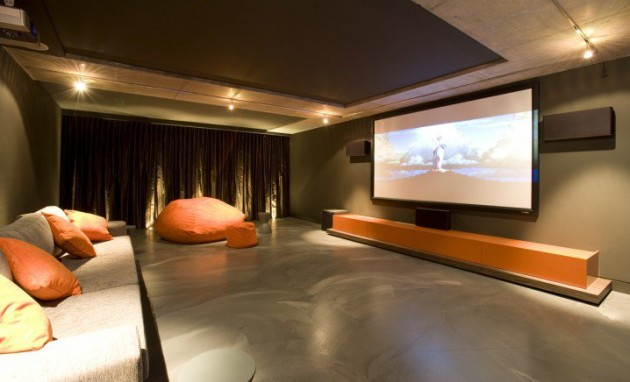 14 truly fabulous home theater design ideas - Home Theatre Design