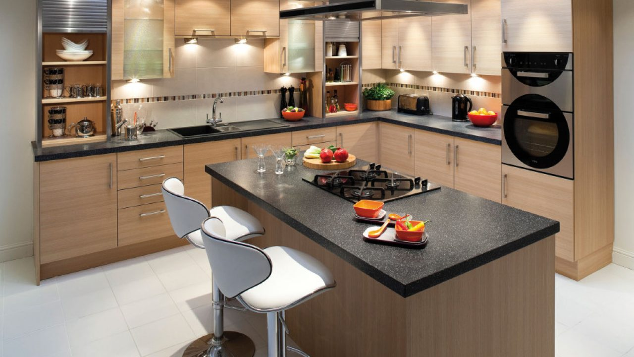9 Functional Small Wooden Kitchen Design Ideas