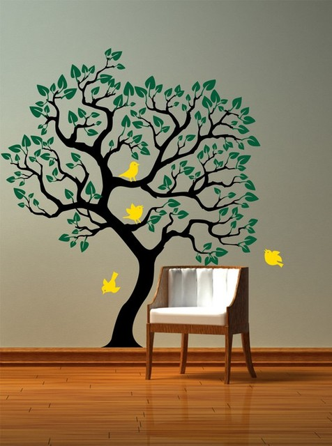 14 Lovely Wall Stickers and Wallpapers To Add a Tone of Freshness in Your Home
