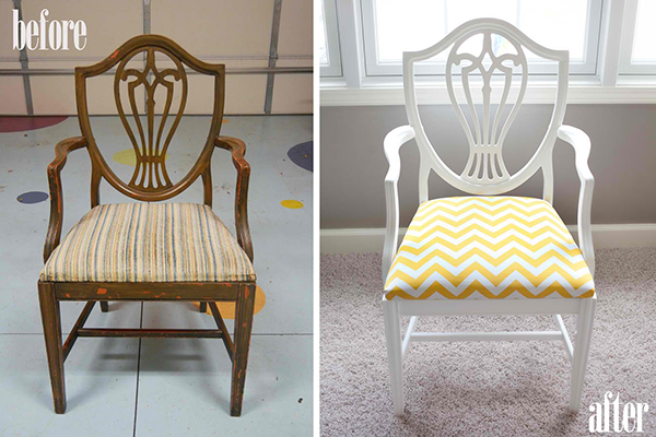 15 Most Amazing Before and After Chair Makeover Ideas
