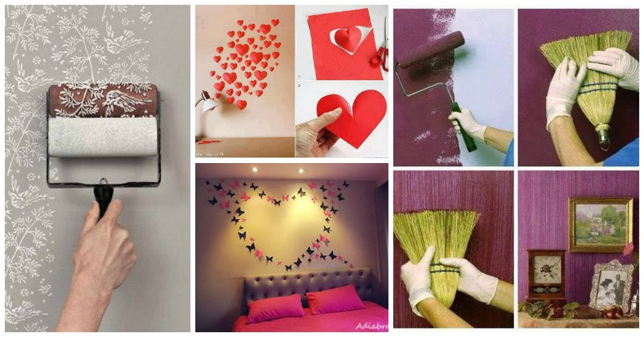 16 awesome and easy diy wall decorating ideas