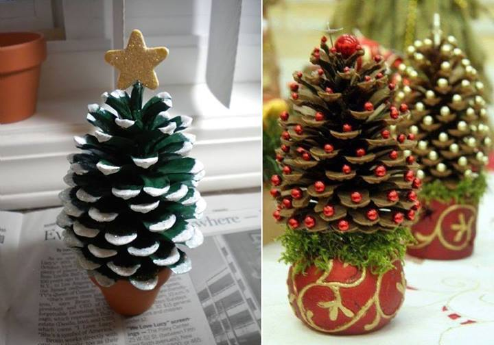 18 the most cheapest astonishing diy pine cones christmas decorations