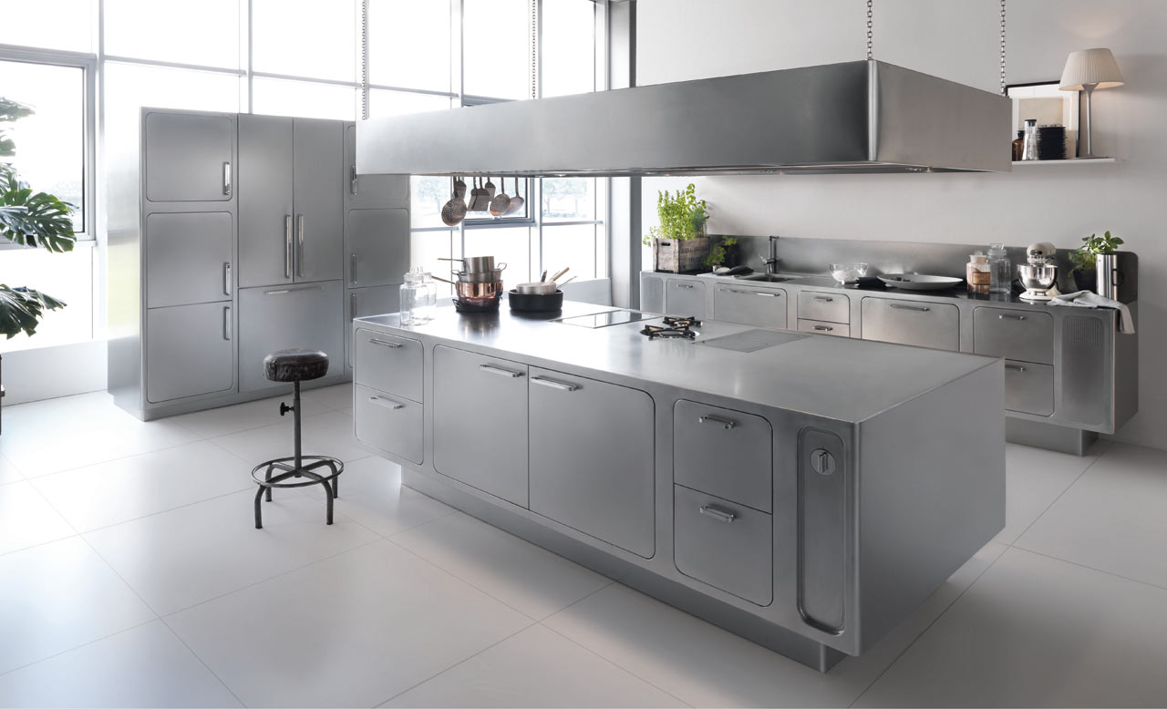 kitchen designs stainless steel 18 beautiful stainless steel kitchen design ideas 348