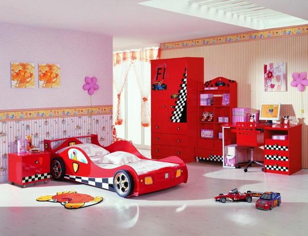 15 Super Cool Car Themed Child S Bedroom Designs