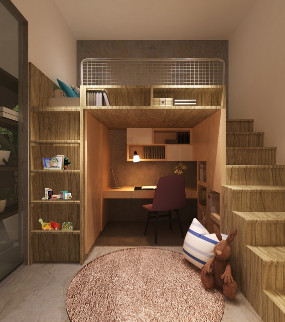 16 Functional Space Saving Small Childs Room Design Ideas