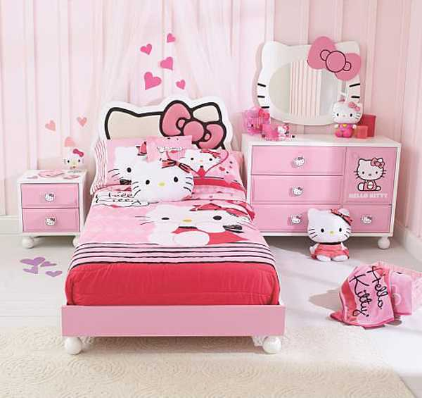 15 lovely hello kitty room designs for your little princess 15538 | 1139