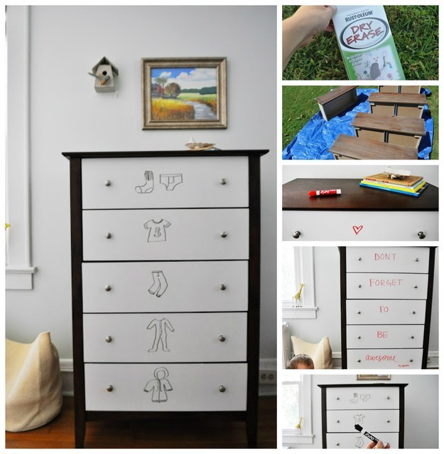 28 Super Cool & Money Saving Ways to Transform Old Boring Dresser