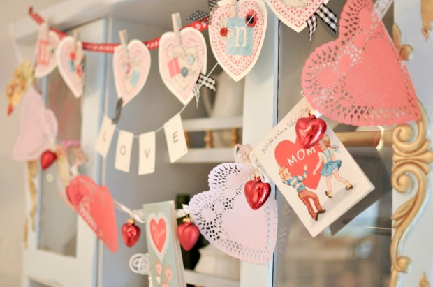 19 Unusally Easy & Cheap DIY Valentine's Day Home Decorations