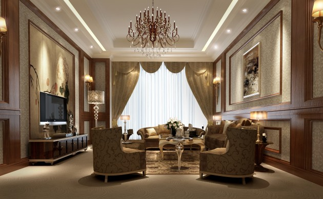 15 Glamorous Living Room Designs That Wows
