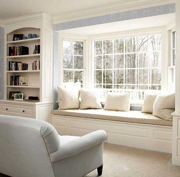 16 attractive window seat designs for pleasant relaxation for Sitting window design