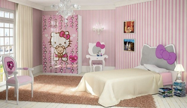 15 lovely hello kitty room designs for your little princess - Decoration Hello Kitty Chambre