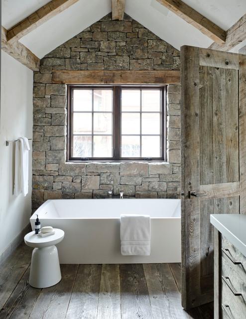 16 Pleasant Stone Batrhoom Designs For Your Private Haven