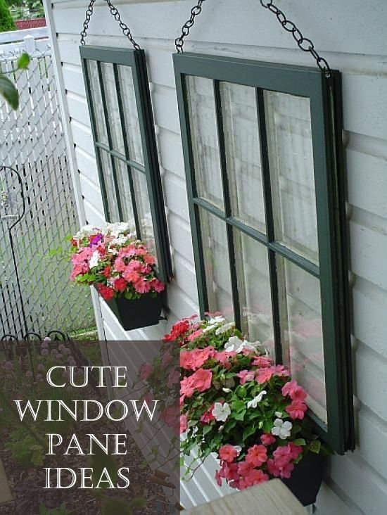 19 Surprisingly Awesome Ideas To Use Old Windows To Add Vintage Charm