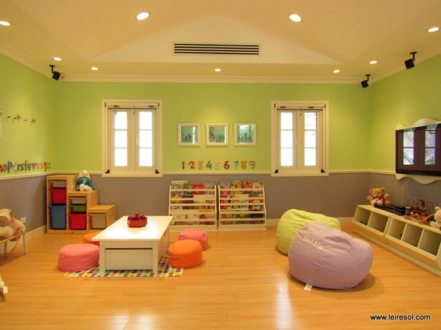 Home Daycare Design Ideas: 16 Joyful Basement Playroom Designs For Your Dearest