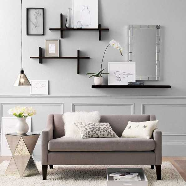 15 Fascinating Modern Living Room Shelves For Any