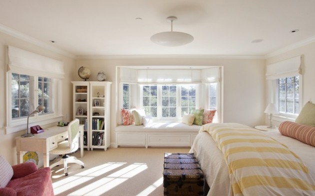 16 Attractive Window Seat Designs For Pleasant Relaxation in Your Home