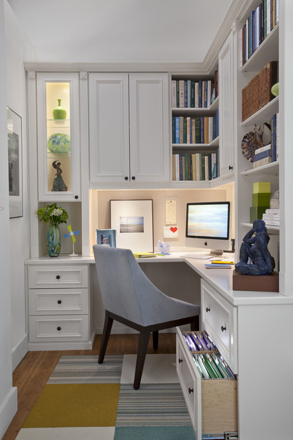 adorable mini home office designs for small apartments. Black Bedroom Furniture Sets. Home Design Ideas