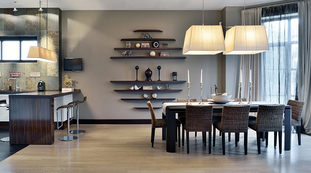 15 Dapper Contemporary Dining Room Interior Designs For Inspiration