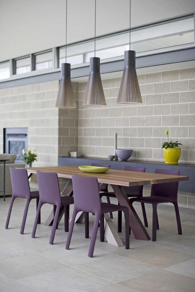 15 Dapper Contemporary Dining Room Interior Designs For Inspiration