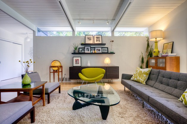 15 Elegant Mid-Century Living Room Designs That Will Bring You Back To The '50s