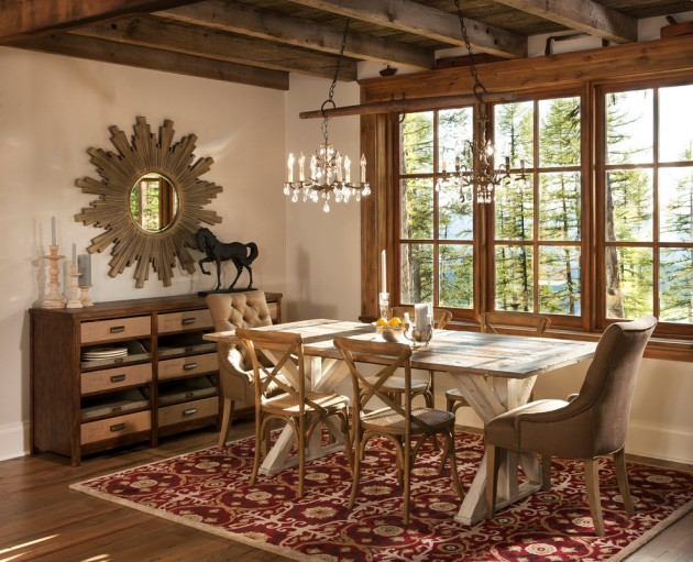 rustic dining room 15 rustic dining room interior designs for the 1043